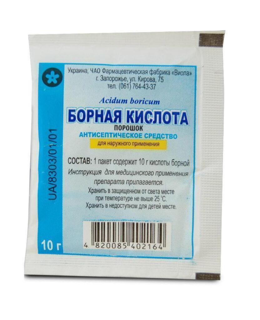 Борная кислота от тараканов DEZSESMOS.RU